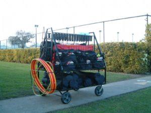 tennis trolley