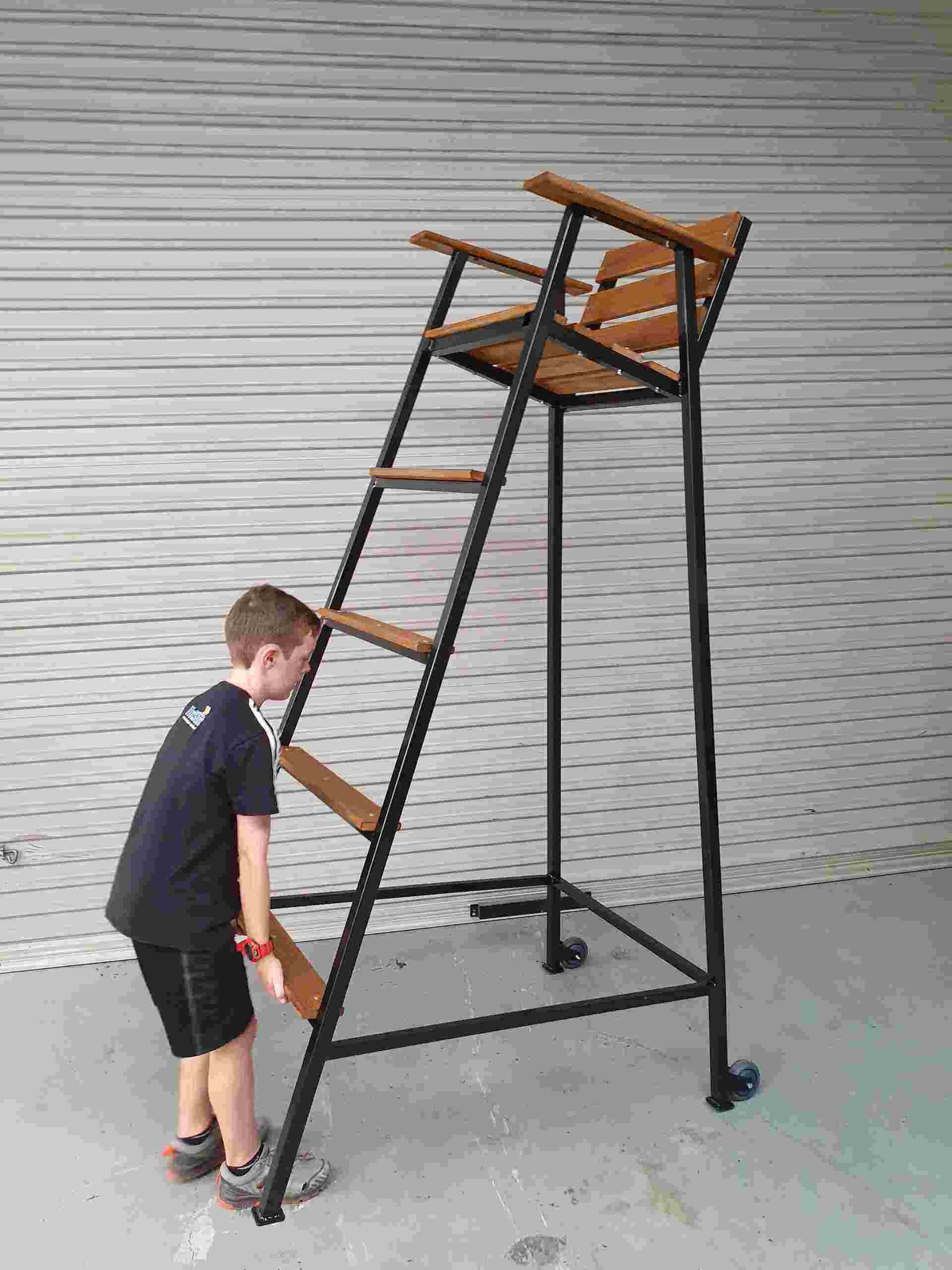 umpire stand